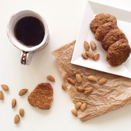 Печенье с миндальной пастой