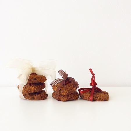 Морковно-ржаное печенье